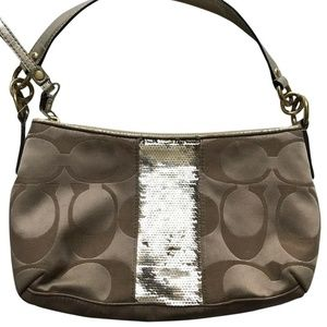 Coach Mini Purse Embellishment